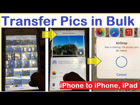 How to move pictures from iphone to ipad with icloud