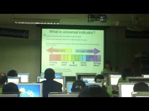 การนำเสนอการสอนในรูแบบ EIS ในวิชา เคมี