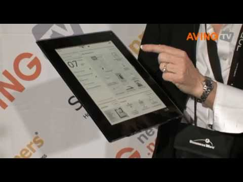Plastic Logic to showcase Que proReader, its plastic electronics display