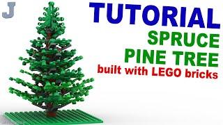 Tutorial - Lego Pine Tree Thumbnail