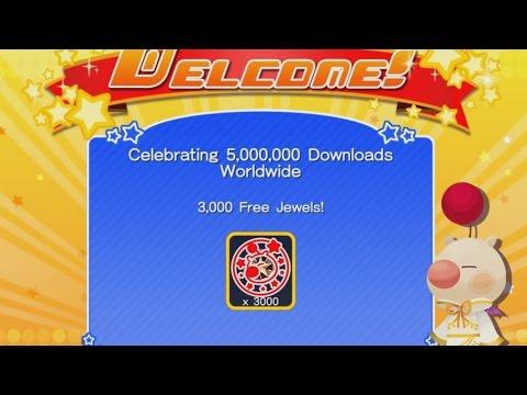 3000 FREE JEWELS - Kingdom Hearts Unchained X