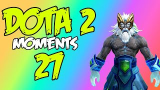 Dota 2 - Moments 27 / Zeus - РАК