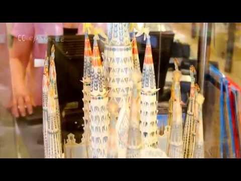 Nice Paper Model of Sagrada Familia