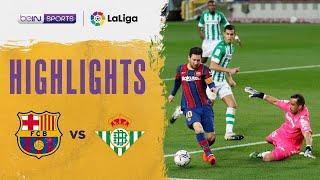 Barcelona 5-2 Real Betis | LaLiga 20/21 Match Highlights
