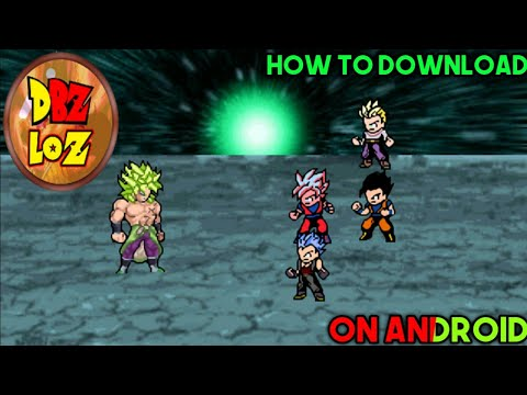 HOW TO DOWNLOAD DBZ LEGEND OF Z IN ANDROID 100%WORKING