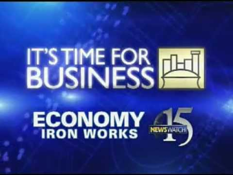 time for business economy iron works
