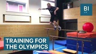 Watch freestyle skier Andri Ragettli's parkour training routine