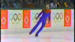 1984 Winter Olympics - Men's Figure Skating Free Skate Part 7