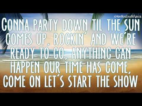 That's How We Do - Teen Beach 2 Cast - Lyrics On Screen