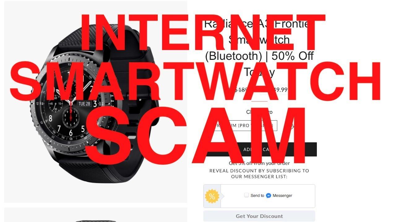 d4df0a09f86 Radiance A3   Matrixblaze V3   Trailblazer V3   Vapor S3 SMARTWATCH SCAMS  on the INTERNET  BEWARE!