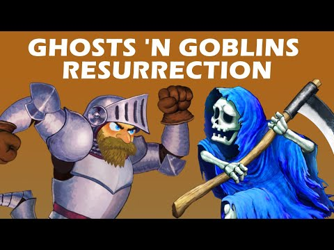 GHOSTS 'N GOBLINS RESURRECTION - Rendre accessible la difficulté