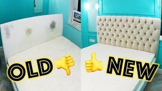 НОВАЯ жизнь СТАРОЙ кровати DIY / переделка мебели своими руками NEW life OLD bed