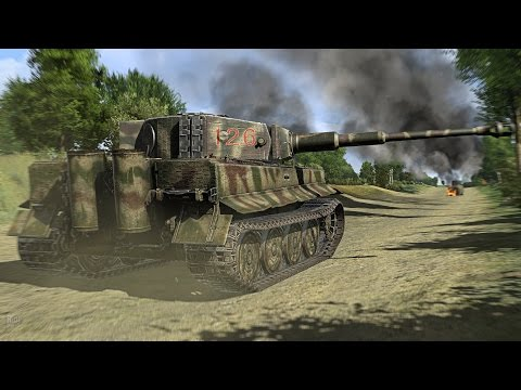 ОХОТА НА ТАНК ТИГР H1 в Масштабном Симуляторе про Войну ! Игра Iron Front 1944