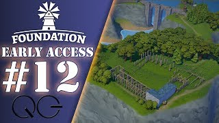 Un chantier colossal - Ep.12 - FOUNDATION | EARLY ACCESS | FR