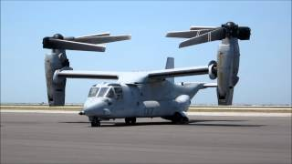 The transforming MV-22 Osprey