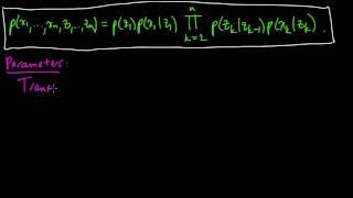 (ML 14.4) Hidden Markov models (HMMs) (part 1)