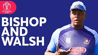Ian Bishop and Courtney Walsh Discuss Bangladesh's Pace Attack!   ICC Cricket World Cup