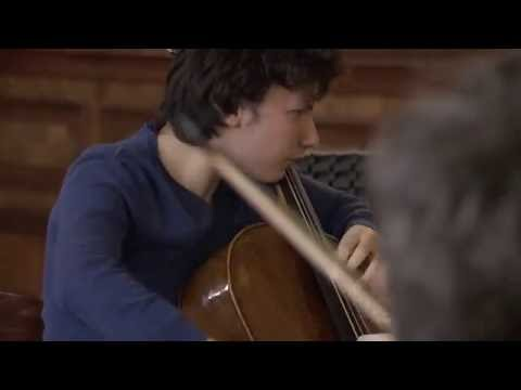 Edgar Moreau records Haydn Cello Concerto in C major III. Allegro Molto