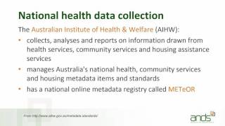 Standards for Medical Health Data