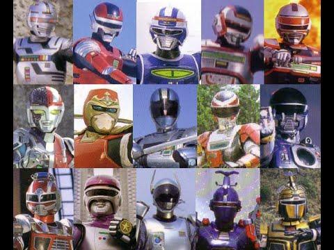 Metal Heroes Henshin 19821996