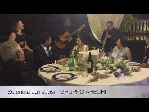 GRUPPO ARECHI- Musica Smooth Jazz/BossaNova/Swing/Napoletano/Popolare (AmalfiCoast,Salerno,Paestum)