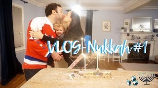 VlogNukkah Day #1 - CELEBRATING THE FIRST NIGHT OF HANUKKAH Daily Hanukkah Vlogs