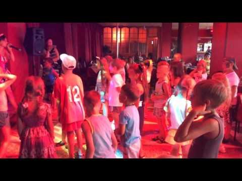 Детская дискотека в Лазаревском