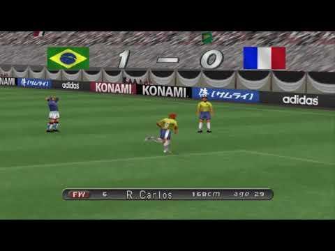 Playstation 1 - Winning Eleven 2002 - Roberto Carlosu Forvete Çekmek Türkçe