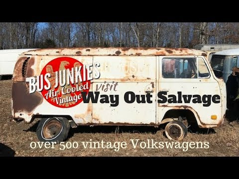 Largest VW Salvage Yard in the World? - Way Out Salvage