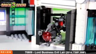 Đồ chơi Lego chúa tể xấu xa (LEGO Movie Lord Business' Evil Lair)