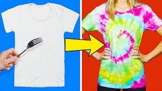 20 COLORFUL AND SIMPLE CLOTHING HACKS FOR CHILDREN thumbnail
