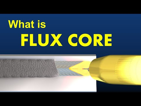 What is Flux Cored  Arc Welding? (FCAW)