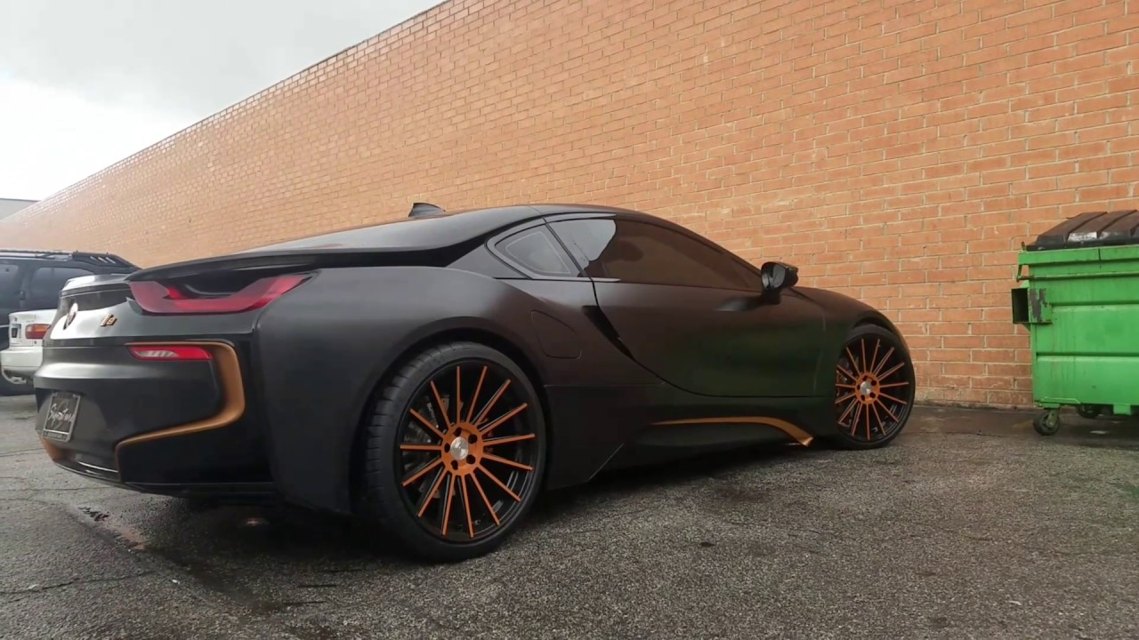 Bmw I8 Insane Wrap Youtube