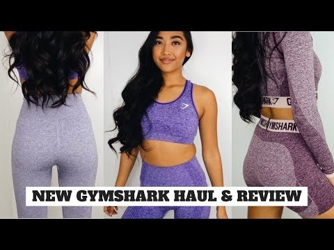 9d4ce8c04f Gymshark slounge and new seamless collection  Review   Try-on