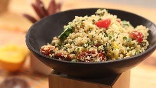 Quinoa Salad With Citrus Dressing   Sanjeev Kapoor Khazana