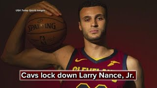 Report: Cleveland Cavaliers sign Larry Nance Jr. to 4-year, $45 million extension