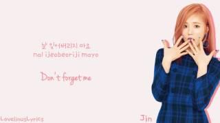 Lovelyz - 첫눈  First Snow  - Lyrics  Color Coded/han/rom/eng