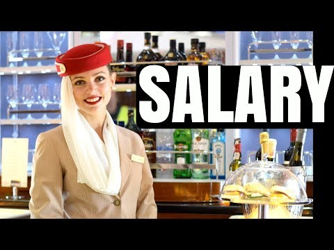 $$$ HOW MUCH EMIRATES CABIN CREW EARN?? SALARY + DEDUCTIONS + END OF SERVICE BONUS