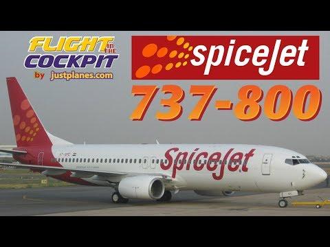 "SPICEJET Boeing 737-800  ""Across India"""