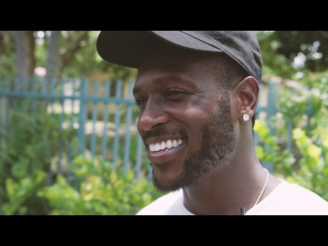 Antonio Brown/Vaunt Miami Trailer