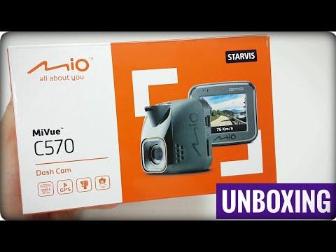 Mio MiVue C570 Unboxing
