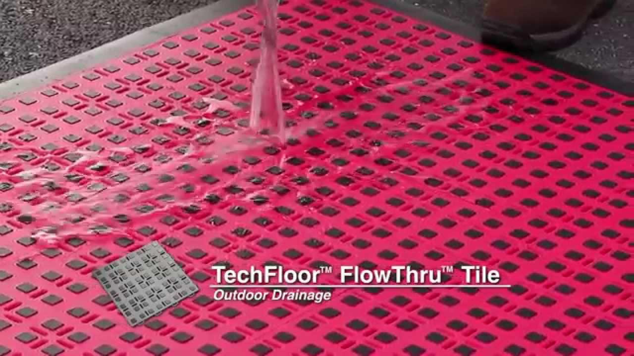 Techfloor Premium Flowthru Floor Tiles With