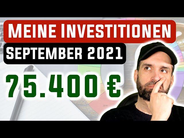 Meine Investitionen in Aktien, ETFs & Kryptos 📊 September 2021