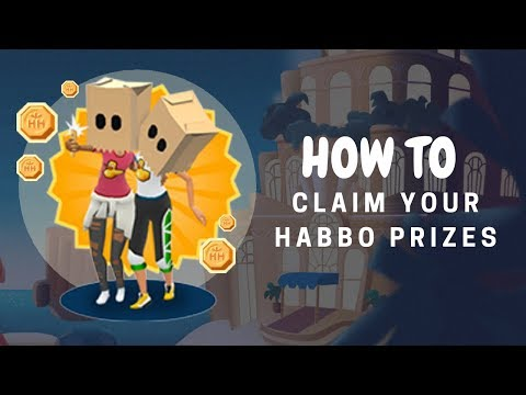 HOW TO Claim Habbo Prizes on Hotel Hideaway