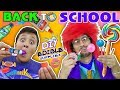 Diy Edible School Supplies! Teacher Vs  Supplies! Fv Back To School Skit