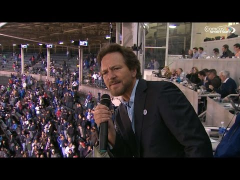 Watch Eddie Vedder Sing 'Take Me Out to the Ball Game' at Wrigley