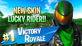 "New ""Lucky Rider"" Skin!! 11 Elims!! - Fortnite: Battle Royale Gameplay"