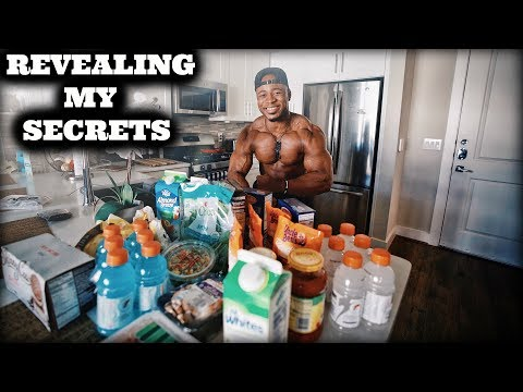 WHAT I EAT TO STAY STRONG   MY GROCERY MUST HAVES