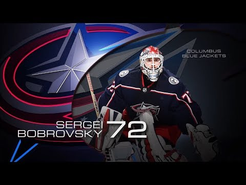 Sergei Bobrovsky earns first star of the week