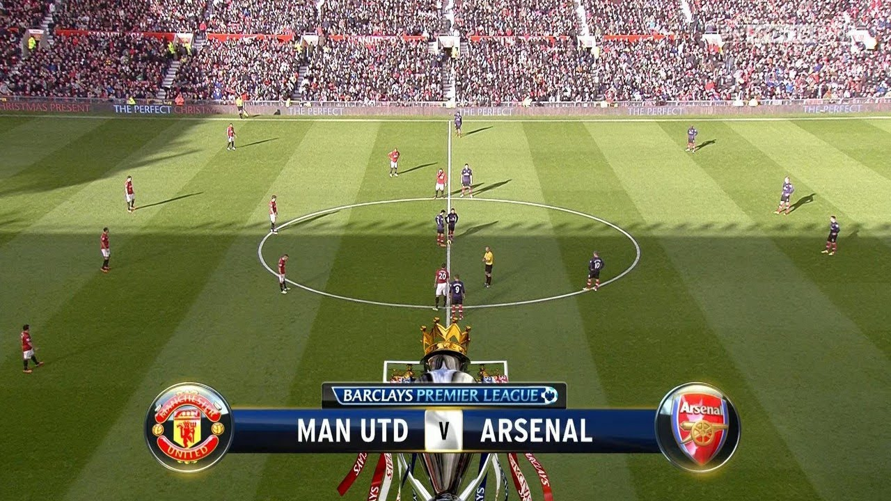 Walcott Goal Arsenal vs Manchester United 1-0 28/04/2013 ...